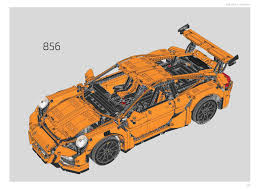 42056 Porsche 911 Gt3 Rs Instructions Technic 2016 Youtube