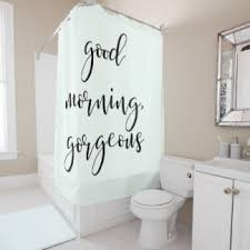 Shower Curtains With Quotes Inspirational Quotes Shower Curtains Zazzle