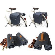 bike waterproofs tourbon bike roll up bag waterproof bicycle tail rear seat double
