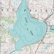 minnesota topographic map clear lake meeker county minnesota lake watkins usgs