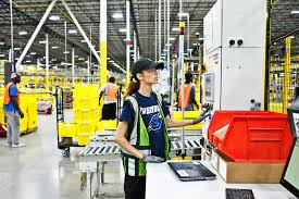 Hit The Floor Amazon - as amazon pushes forward with robots workers find new roles the