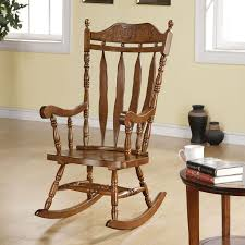 Rocking Chair Teak Wood Rocking Indoor Wood Rocking Chair Inspirations Home U0026 Interior Design