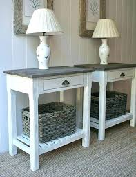 white end table with storage white end tables greyworld