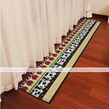 kitchen runner rug washable popular home design modern under