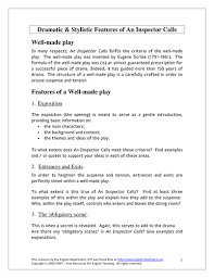 an inspector calls act 3 by jwaller4 teaching resources tes