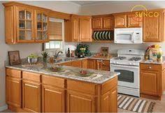 Light Oak Kitchen Cabinets Best Countertops For Oak Cabinets Modern Granite Countertops