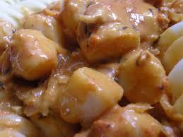 cuisiner noix de jacques surgel馥s noix de jacques au coulis de corail lsgirl67 ou la ruée
