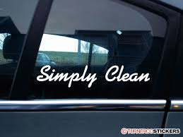 jdm car show simply clean stanced show car vag jdm stickers