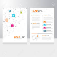 Vorlage Lorem Ipsum Vektor Kommunikation Brosch禺re Flyer Design Vorlage Mit