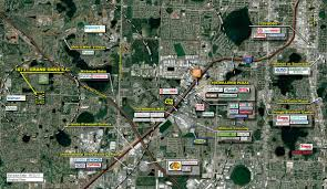 International Drive Orlando Map by Orlando Fl Grand Oaks Village Retail Space Kimco Realty