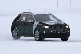 future kia stonic spied for the first time