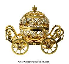 Pumpkin Carriage Table Top Gold Grand Pumpkin Coach Carriage Table Top Display
