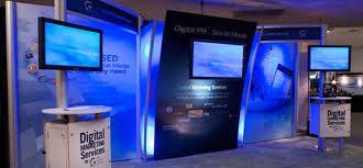 digital photo booth booth featuring stunning digital display stands digital display