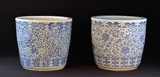 stallion hill gallery u2013 pair large chinese blue white porcelain