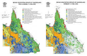 Map Of Queensland Tern Terrestrial Ecosystem Research Network Australia U0027s First