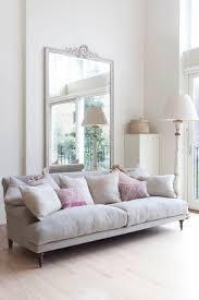 Reflected Glory Huge Mirror Large Sofa And Minimalist - Bedroom sofa ideas