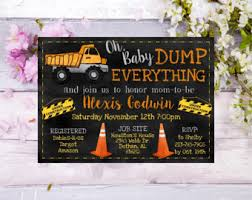 construction baby shower construction themed baby shower invitations yourweek eaebb8eca25e