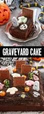 halloween theme foods chocolate graveyard cake annie u0027s noms