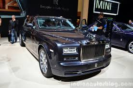 2015 rolls royce phantom price rolls royce phantom metropolitan collection at the 2014 paris