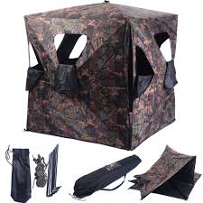 Scissor Lift Hunting Blind Portable Hunting Blinds Deer