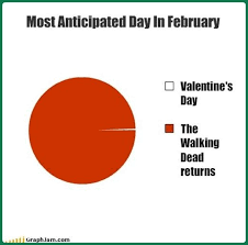 Walking Dead Valentine Meme - the walking dead is back and i m not liking it cher cabula s mindbox
