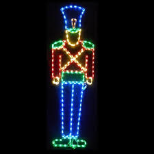 Lighted Christmas Outdoor Decorations by Lighted Outdoor Decorations Lighted Soldier Decorations
