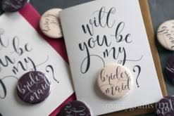 bridesmaid asking cards will you be my cards for wedding bridesmaid groomsman mix