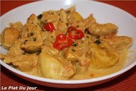 cuisiner coco plat curry de poulet créole aux bananes plantain un plat bien épicé