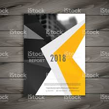 financial report cover page abstract business brochure template annual report cover page in
