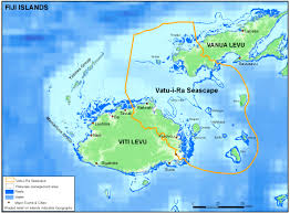 Map Of Fiji Vatu I Ra Seascape U2013 Wildlife Conservation Society