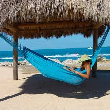 mayan caribbean hammock light blue by the caribbean hammocks