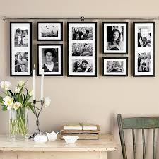 framing ideas hallway framing idea love this idea less holes in your walls and