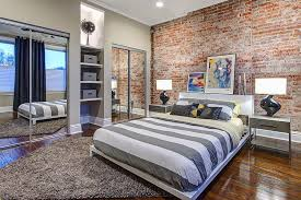 Look For Design Bedroom 50 Delightful And Cozy Bedrooms With Brick Walls