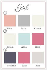 Best  Nursery Color Schemes Ideas On Pinterest Girl Nursery - Girl bedroom colors