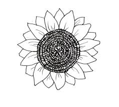 Sunflower Coloring Pages Free Sunflower Smiling Coloring Pages Sunflower Coloring Page