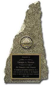 State Shaped Gifts New Hampshire Granite Awards U0026 Gifts