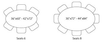 Round Dining Room Table Seats 8 Dining Room Table Dimensions To Seat 8 8 Seater Round Dining