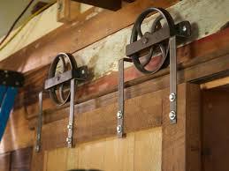 Pole Barn Door Hardware by Never Leave Barn Door Brackets When Install Barn Door The Door