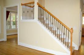 Replacing Banister Wrought Iron Stair Railings Simple Wrought Iron Stair Railings