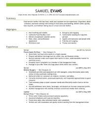 Exles Of Server Resume Objectives Pin By Ackerson On Resume Exles Leadership