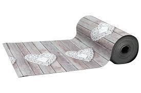tappeto guida tappeto guida cucina con cuori bianchi 1mt