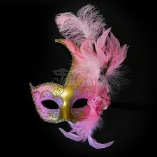 pink mardi gras mask masquerade mask feather masquerade mask feather masks mardi