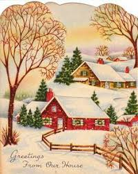 515 best old fashioned christmas cards buildings images on
