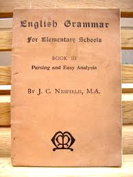 vintage 1930s text book english grammar for elementary