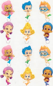 guppie cake toppers guppies edible image frosting cake topper decoration ebay