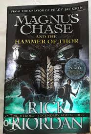 jual magnus chase and the hammer of thor book 2 bluewater 7 99