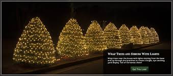 decorative outside lights for trees