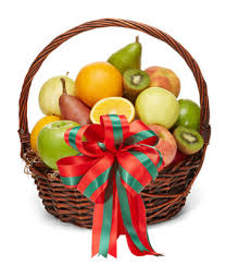 merry christmas fruit basket at from you flowers