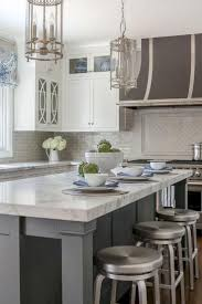 pictures of kitchen backsplashes with white cabinets backsplash white cabinets gray countertop what color granite with