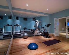 25 excellent ideas for designing motivational home gym basement